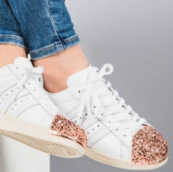 adidas Shoes | Superstar 80s Rose Gold |